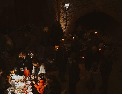 Julmarknad Vadstena slott