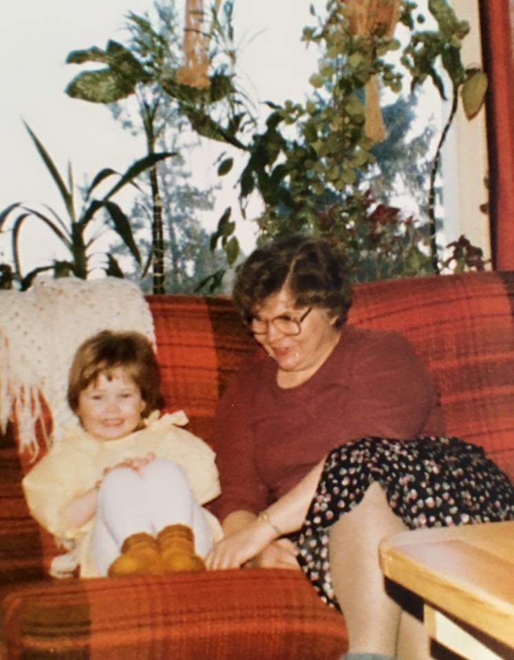 Mormor och jag