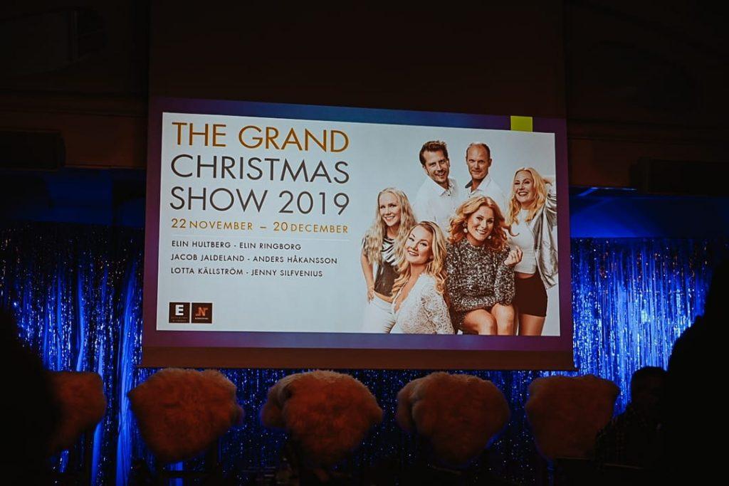 Julshow på grand Norrköping